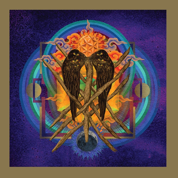 Cover YOB, our raw heart (electric blue vinyl)