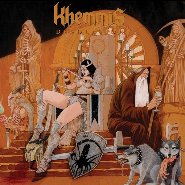 KHEMMIS, desolation cover