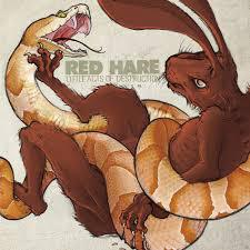 RED HARE, little acts of destruction cover