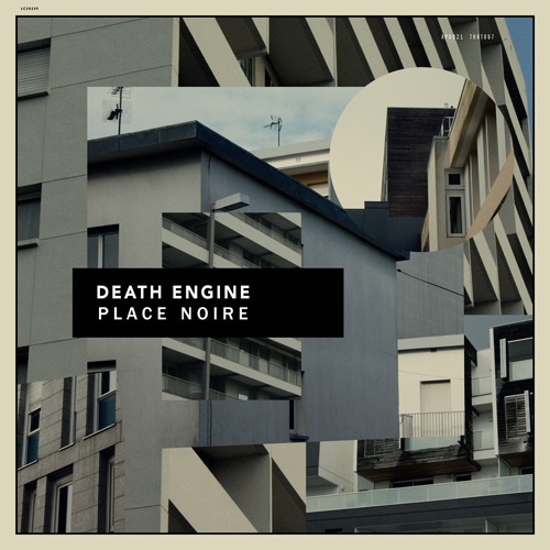 Cover DEATH ENGINE, place noire