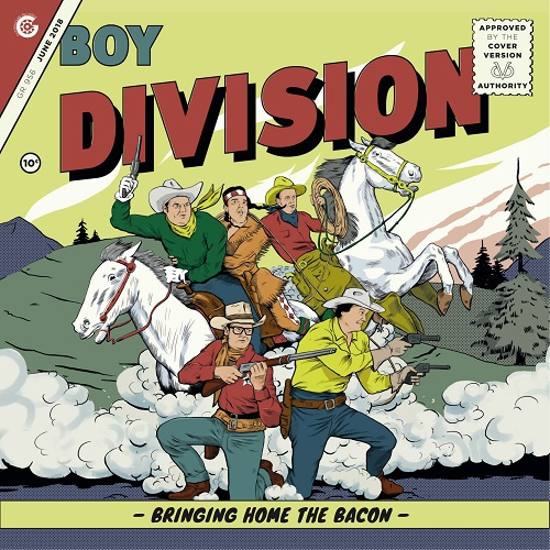 BOY DIVISION, bringing home the bacon cover
