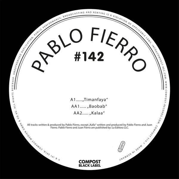 PABLO FIERRO, timanfaya ep cover