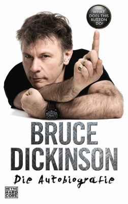 BRUCE DICKINSON, what does this button do? cover