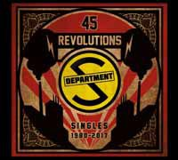 DEPARTMENT S, 45 revolutions: singles 1980 - 2017 cover