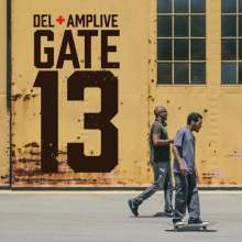 DEL & AMP LIVE, gate 13 cover