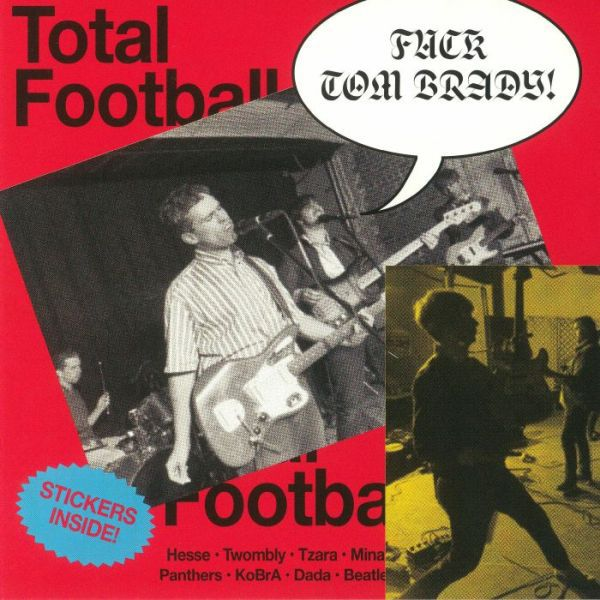 Cover PARQUET COURTS, total football