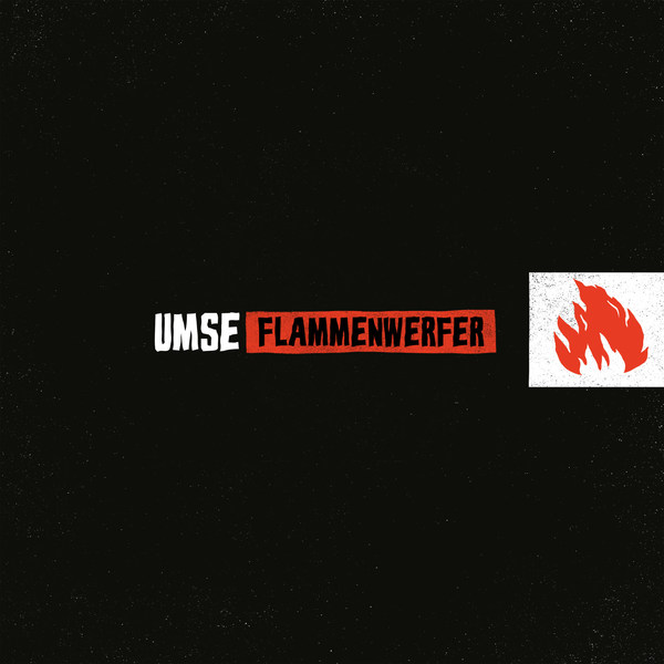UMSE, flammenwerfer ep cover