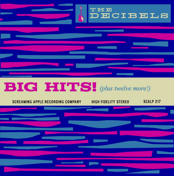 Cover THE DECIBELS, big hits