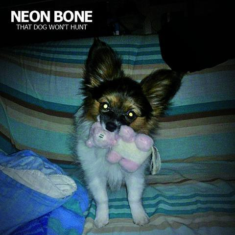 Cover NEON BONE, that dog won´t hurt