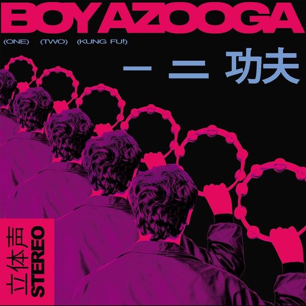 BOY AZOOGA, 1, 2, kung fu cover