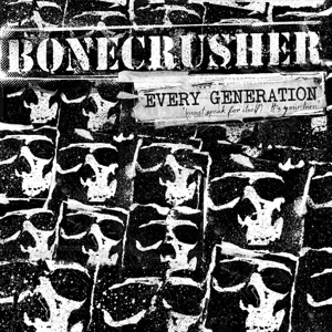 Cover BONECRUSHER, every generation