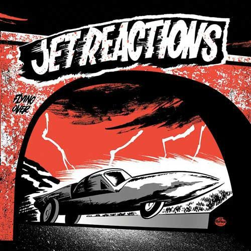 Cover JET REACTIONS, more reactions ep