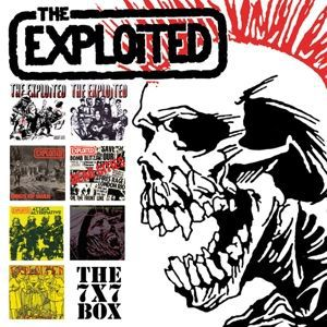 "Cover EXPLOITED, the 7"" singles box"