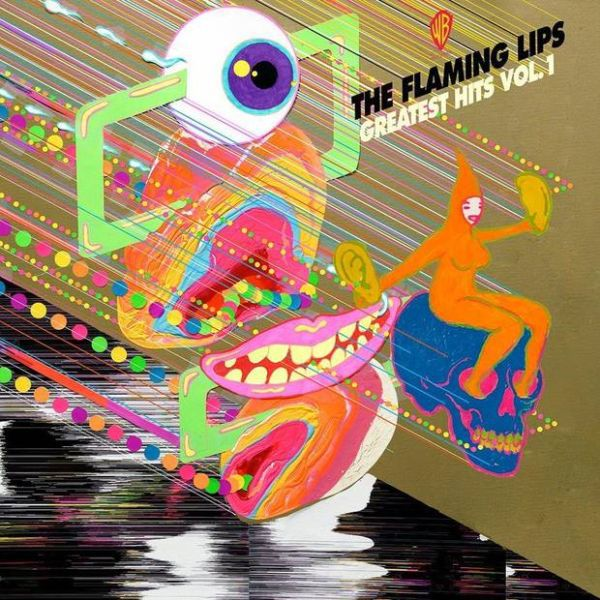FLAMING LIPS, greatest hits vol. 1 cover