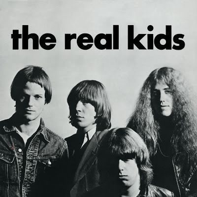 REAL KIDS, s/t 41th anniversary edition cover
