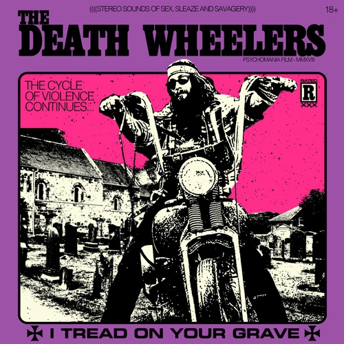 Cover DEATH WHEELERS, i tread on your grave