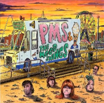 Cover PMS & THE MOODSWINGS, s/t