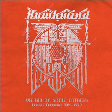 Cover HAWKWIND, victim of sonic attack