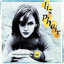 LIZ PHAIR, whitechocolatespaceegg cover
