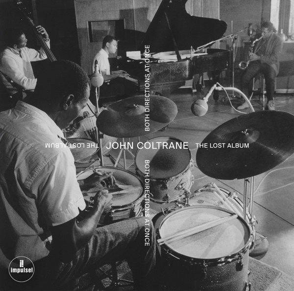 JOHN COLTRANE, both directions at once - lost album cover