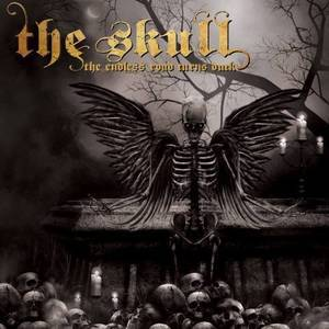 THE SKULL, the endless road turns dark cover