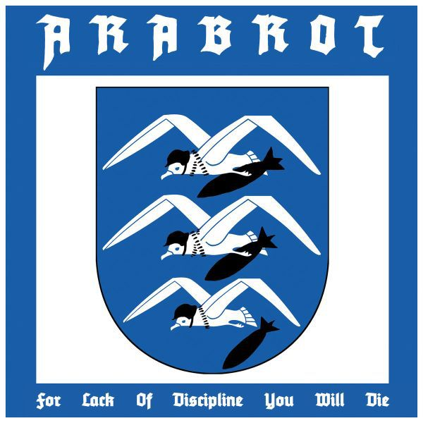 ARABROT, for lack of disciplin you will die cover
