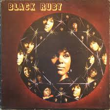 RUBY ANDREWS, black ruby cover