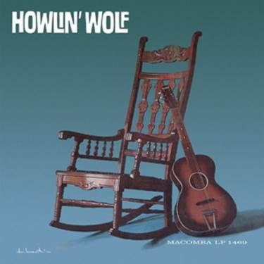 Cover HOWLIN´ WOLF, s/t