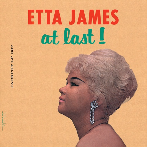 ETTA JAMES, at last cover