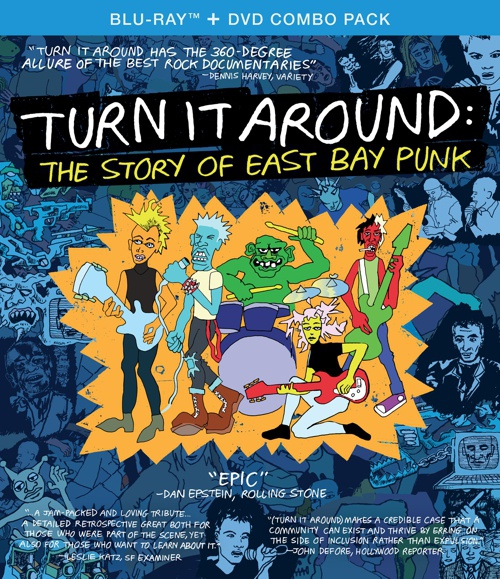 MOVIE, turn it around: the story of east bay punk cover