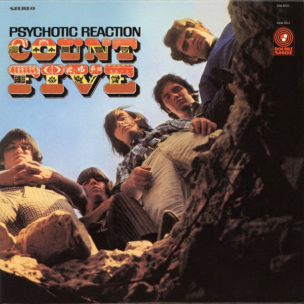 Cover COUNT FIVE, psychotic reaction