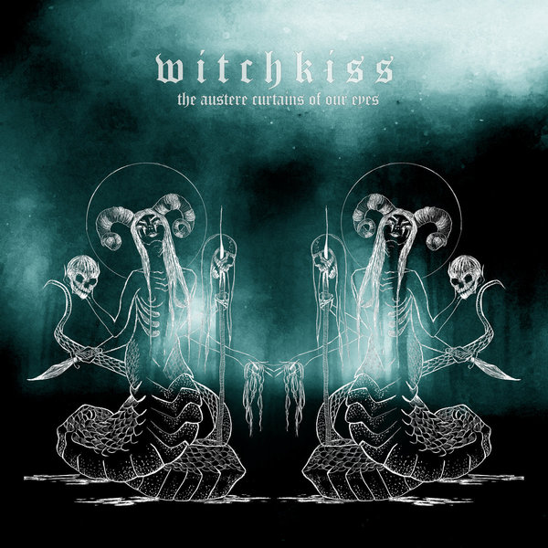 Cover WITCHKISS, the austere curtains of our eyes