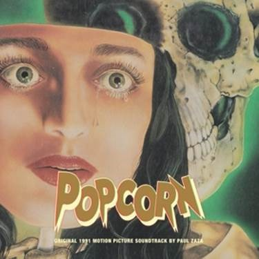Cover O.S.T. (PAUL ZASA), popcorn (original 1991 motion picture soundtrack)
