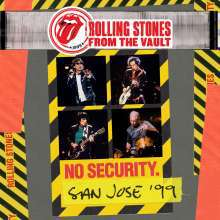 Cover ROLLING STONES, from the vault: no security - san jose 1999