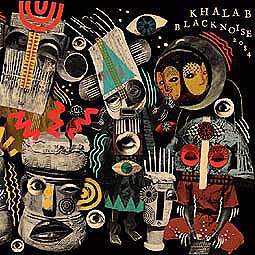 KHALAB, black noise 2084 cover