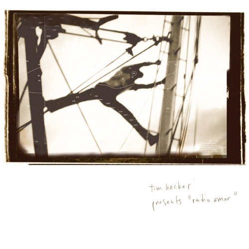Cover TIM HECKER, radio amor