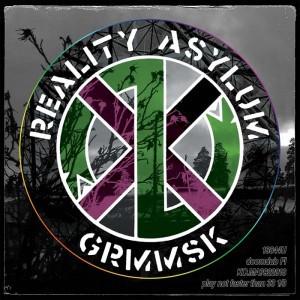 GRMMSK, reality asylum cover