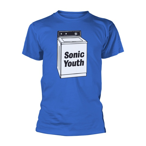 SONIC YOUTH, washing machine (boy) blue cover