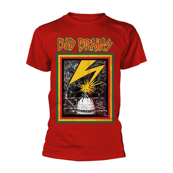 BAD BRAINS, bad brains (boy) red cover