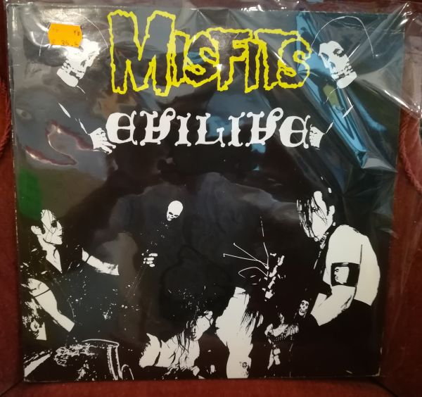 Cover MISFITS, evilive (USED)