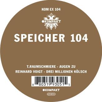T. RAUMSCHMIERE/REINHARD VOIGT, speicher 104 cover