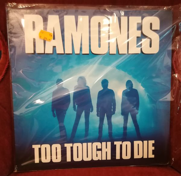 Cover RAMONES, too tough to die (USED)