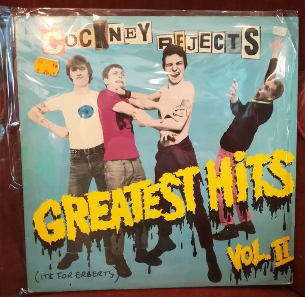 Cover COCKNEY REJECTS, greatest hits vol II (USED)