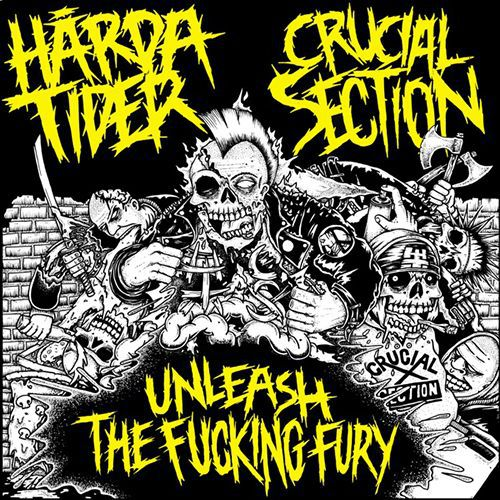 HARDA TIDER / CRUCIAL SECTION, split ep cover