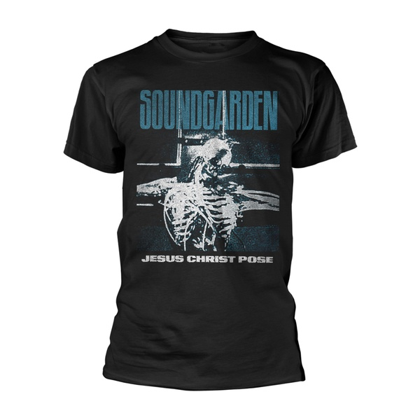 SOUNDGARDEN, jesus christ pose (boy) black cover