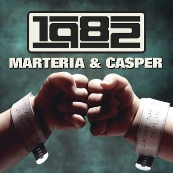 MARTERIA & CASPER, 1982 cover