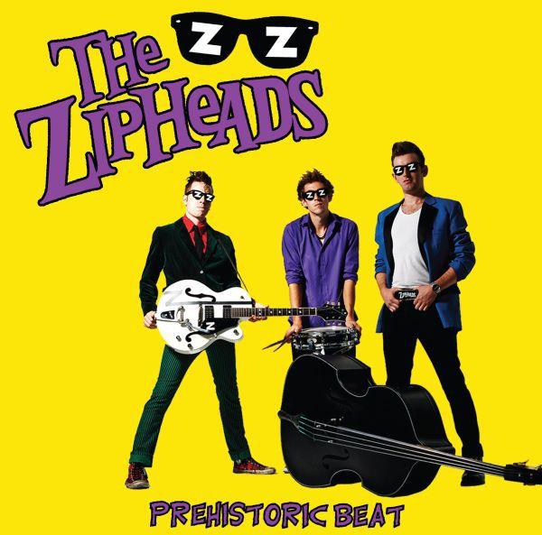 ZIPHEADS, prehistoric beat cover