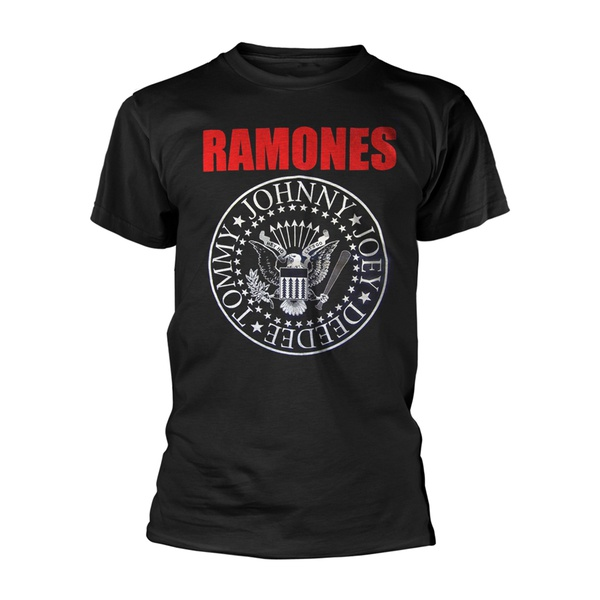 Cover RAMONES, red ink seal (boy) black