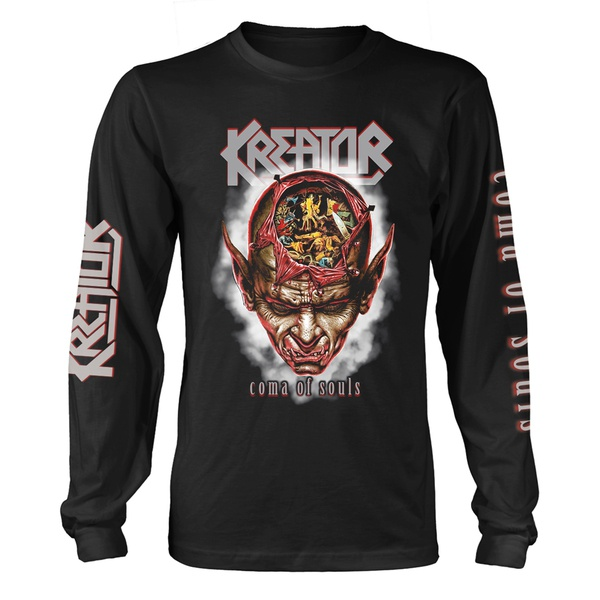 KREATOR, coma of souls longsleeve (boy) black cover