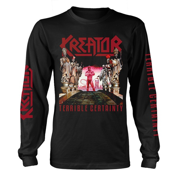 KREATOR, terrible certainty longsleeve (boy) black cover